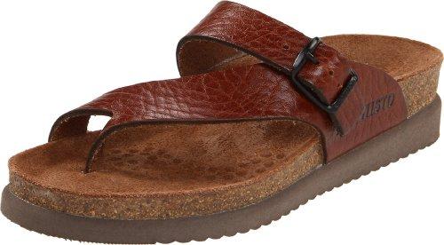 Mephisto womens Helen flats sandals, Desert Buffalo, 7 US