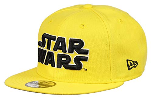 New Era Star Wars 9fifty Snapback Cap Colour Injection Cyber Yellow - One-Size