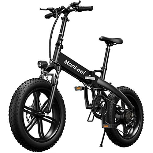 Mankeel Bicicletta elettrica pieghevole ad alta potenza 36v...