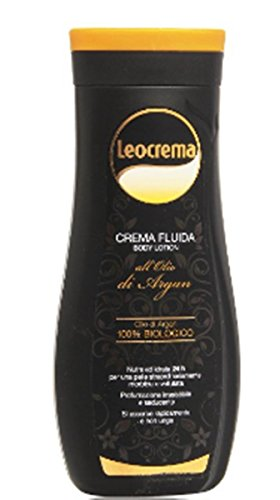 12 X Leocrema CRÈME Liquide CORPS HUILE DE ARGAN 100% BIOLOGIQUE