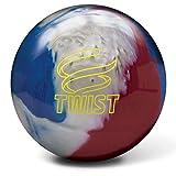 Brunswick Twist Reactive Bowling Ball- Red/White/Blue 16lbs