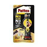 Pattex Ni Clou Ni Vis Click & Fix, colle de fixation sous forme d'applicateur pré-dosé, jusqu'à 20 doses, colle rapide sur tous...