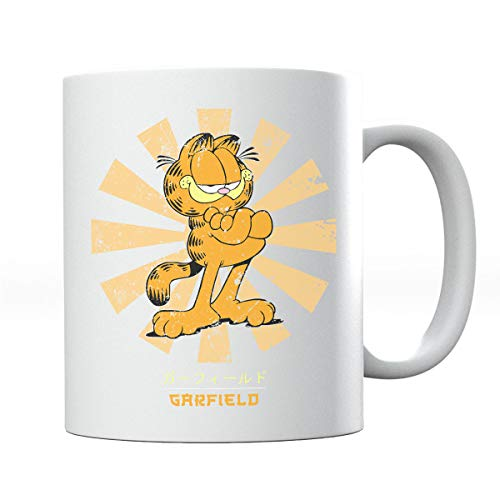Garfield Retro Japanese Mug