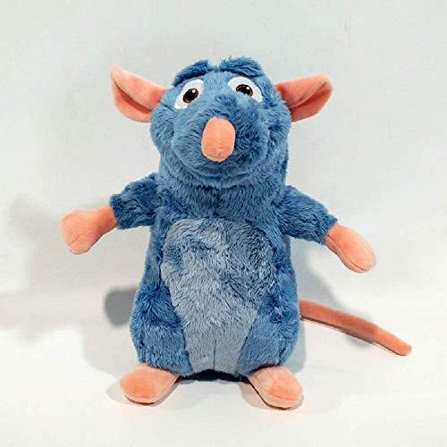 TEDS 25 cm Ratatouille Remy Mouse Niedliche Teddy-Puppe Teddy-Tiere Weiche Rattenspielzeug für Kinder Geschenke für Jungen Chongxiang (Color : Default)