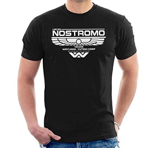 Alien Nostromo Logo Men's T-Shirt