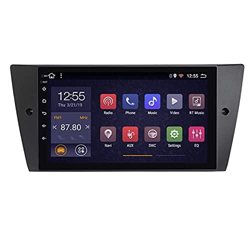 Android 8 Coche Radio Multimedia Player para BMW E90 E91 E92 E93 Coche Estéreo GPS Navegación GPS de 9 pulgadas Espejo de pantalla WiFi Control de volante ( Color : 4 cores , Size : 4G+WIFI:2+32G )