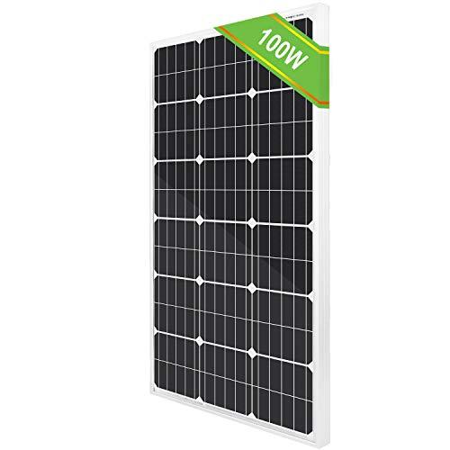 ECO-WORTHY L02P10-N-1 Pannello solare monocristalino, 10W 12V