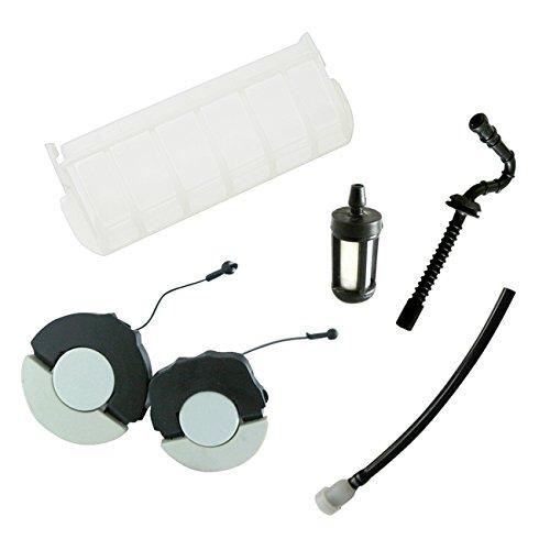 JRL Tapa de filtro de aire para ventilación del depósito de combustible Stihl 023 025 MS210 MS230 MS250