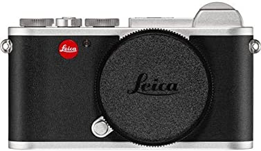 Leica CL Mirrorless Digital Camera (Body Only, Silver Anodized)