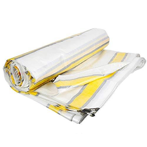 Busirsiz Translúcida de plástico blanco de cifrado a prueba de lluvia de Protección Solar Truck color tira de tela de jardín al aire libre cubierta Muebles Mesa Fácil de instalar, adecuado para al air
