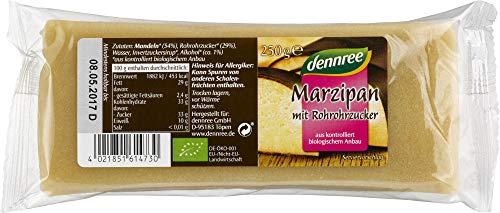 dennree Bio Marzipan mit Rohrohr-, zucker (2 x 250 gr)
