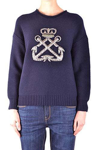 Luxury Fashion | Ralph Lauren Dames MCBI33446 Donkerblauw Wol Truien | Seizoen Outlet