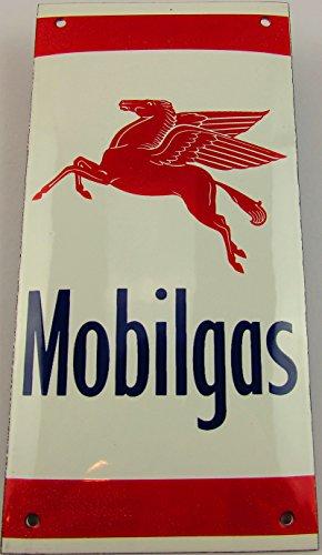 Nouveau Plaque Émaillée gaz mobile, 10 cm x 20 cm, Classic Publicité enseigne publicitaire Life Style Rétro Années 50 Fifties