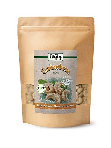 Biojoy Anacardi crudi BIO, non salate e naturali, Anacardium occidentale (0,5 kg)