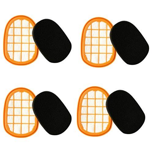 SODIAL Accessoires D'Aspirateur pour FC6822 FC6823 FC6827 FC6908 FC6906 FC6904 Filtre Filtre Coton, 4 Paires