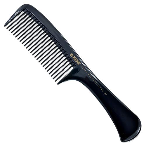 Kent SPC85 Style Professional Combs Hard Rubber, Anti-static, Unbreakable & Heat Resistant - Salon & Barber Quality