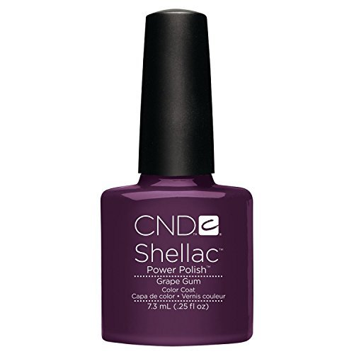 CND Shellac Power Vernis – Collection Summer Splash – Grape Gum – 7,1 gram/7.3 ml par CND Nail Products