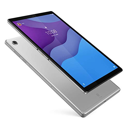 Lenovo Tab M10 HD Plus 25,5 cm (10,1 Zoll, 1280x800, HD, WideView, Touch) Tablet-PC (MediaTek Helio P22T, 2GB RAM, 32GB eMCP, Wi-Fi, Android 10) grau