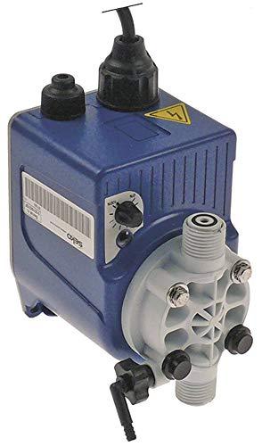 SEKO Dosiergerät für Spülmaschine für Klarspüler mit Ansaug- und Förderschlauch 7bar 2l/h 50Hz Leistungsaufnahme 16VA