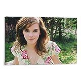JIAWEI Póster de embajador de buena voluntad de Emma Watson Póster de la pared de la pintura de arte de la pintura moderna carteles enmarcados/sin marco de 50 x 75 cm