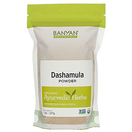 Banyan Botanicals Dashamula Powder - Certified Organic, 1/2 Pound - A Traditional Ayurvedic Formula for pacifying vata and Supporting Proper Function of The Nervous System*
