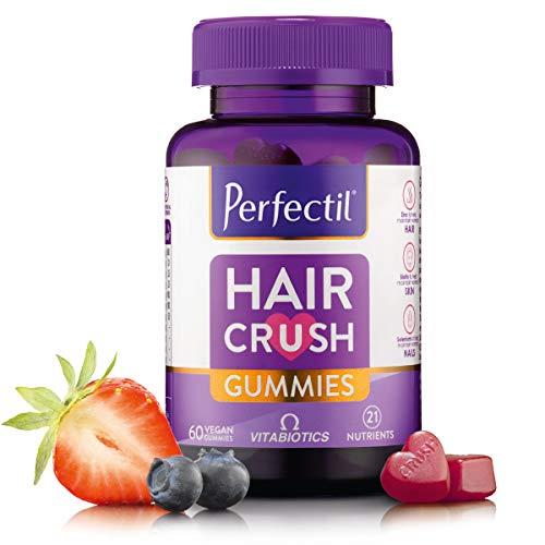 Vitabiotics Perfectil Hair Crush Gummies - 60 Vegan Gummies