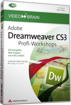 Video2Brain Adobe Dreamweaver CS3 - Profi-Workshops Video-Training DVD-ROM