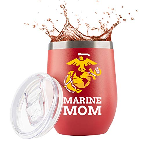 Marine Mom Tumbler