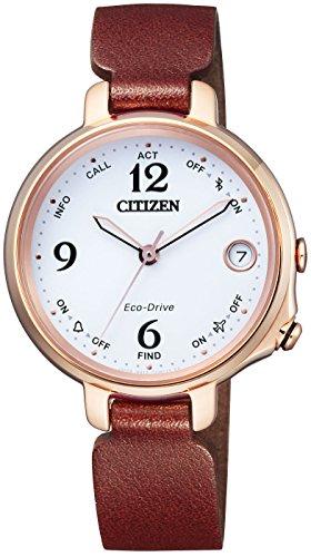 シチズン腕時計 エコ・ドライブ Bluetooth EE4029-17A レディース ブラウン