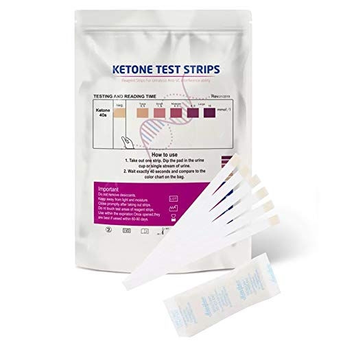 Lespar 300PCS Keton Teststreifen, Urin Urinanalyse Papierreagenzien Keton Teststreifen für die effektive Keto Ernährung und Diät - Ketosticks, Keton Sticks Urin