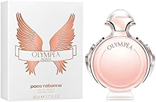 PACO RABANNE Olympea Aqua Eau de Toilette Spray for Women, 2.7 Ounce by PACO RABANNE