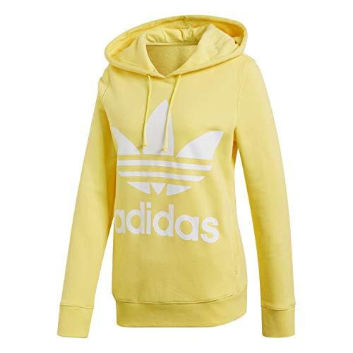 Sudadera amarilla Adidas para mujer