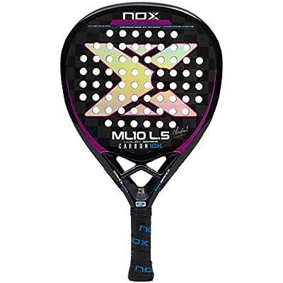 Nox ML10 Luxury L5 Carbon 18k Palas, Adultos Unisex, Negro, 375
