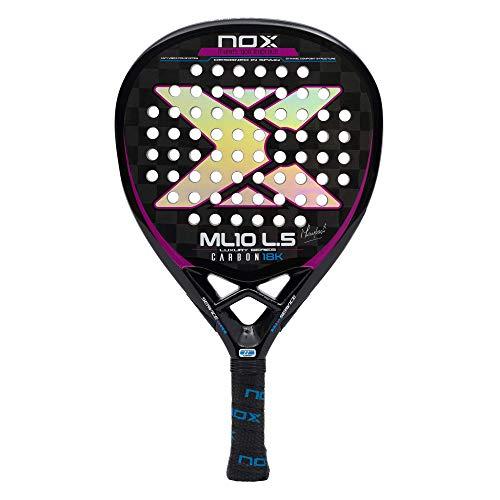 NOX Pala de pádel ML10 Luxury L.5 Carbon 18K by Miguel