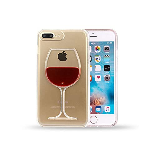 Fundas de teléfono para iPhone 12 Mini 11 PRO MAX XS MAX X XR 3D Quicksand vino vidrio moda cubierta para iPhone 5 5S 6 6S 7 8 Plus FUNNDA-Beige-para iPhone 7 8