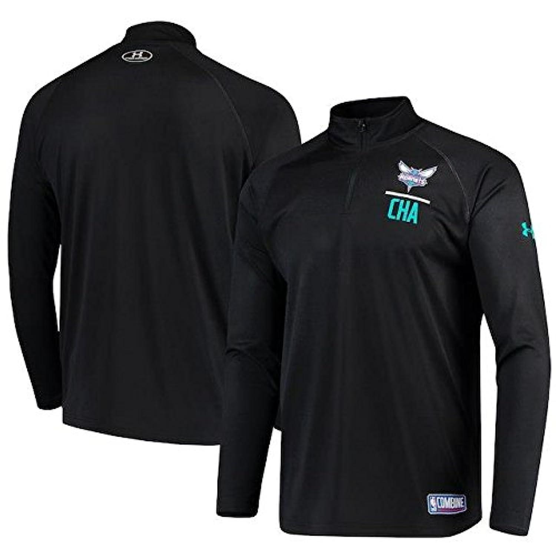 Under Armour Under Armour Charlotte Hornets Black Combine Tech Quarter-Zip Performance Sweatshirt アウターウェア ジャケット/アウター 【並行輸入品】