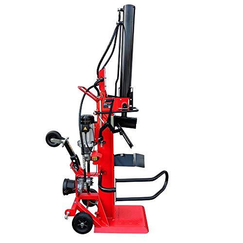 Brennholzspalter Hydraulikspalter 22 Tonnen Spaltkraft 400V einfache Bedienung mobiler Trennspalter für Brennholz inkl. Seilwinde