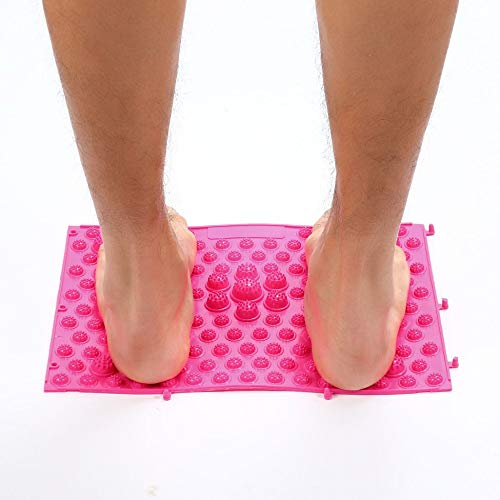 Tappetini per digitopressione Running Man Gioco Stesso tipo di riflessologia plantare Tappeto da massaggio per camminata per alleviare il dolore Sollievo dallo stress 37x27,5 cm