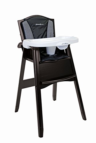 Eddie Bauer 03338CNGB Classic Wood High Chair – Night Blue