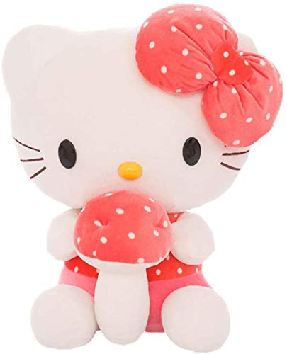 XLBHSH Hello Kitty Animal Stuffed Toy Soft Plush Pillow Valentines Birthday Gift Home Decor Soft Toys Cuddly Plush Toy, 30 cm-70 cm,40cm