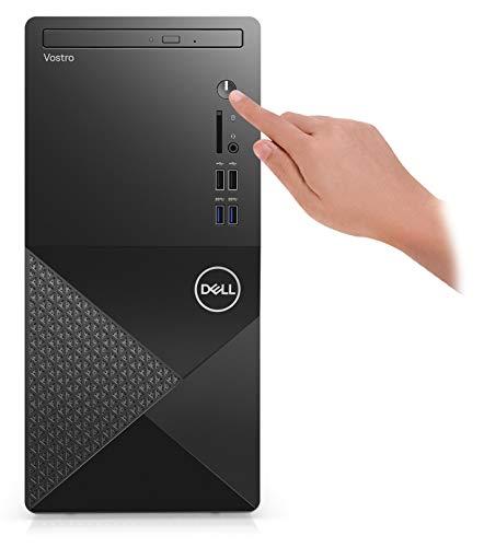 2021 Newest Dell Vostro 3000 Series 3888 Tower Business Desktop Computer, 10th Gen Intel Core i5-10400 6-Core Processor, 16GB Memory, 512GB PCIe NVMe SSD, DVD, HDMI, VGA, Wi-Fi, Windows 10 Pro, Black