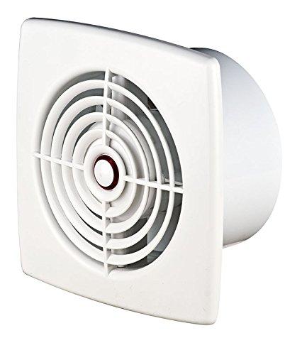Ventilador extractor de baño 100 mm con rodamiento de bolas para inodoro WC, ventilador de pared y techo WR100
