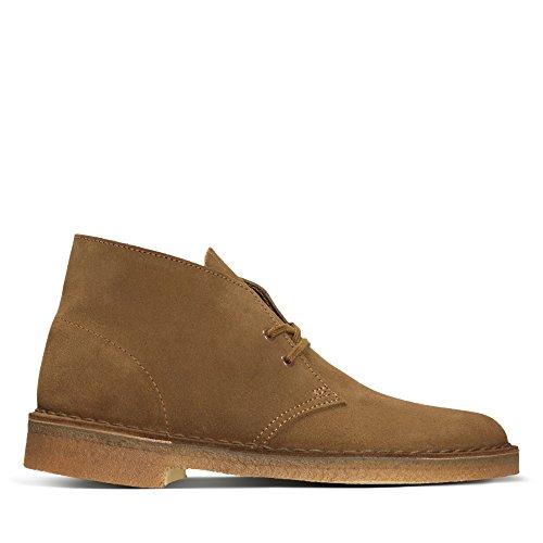 Clarks Originals Desert Boot, Herren Desert Boots Kurzschaft Stiefel & Stiefeletten, Braun (COLA SUEDE), 41.5 EU 7.5 UK