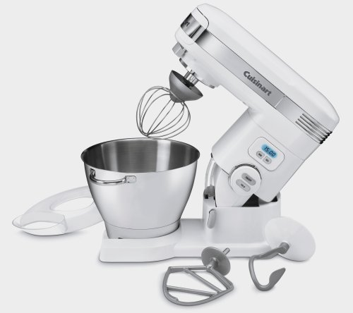 Cuisinart SM-55BC 5-1/2-Quart 12-Speed Stand Mixer, Brushed Chrome