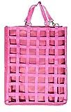 Heutasche Heubag Raufuttertasche für Box, Auslauf oder Anhänger (Pink)
