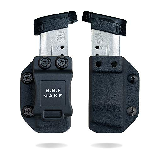 BBF Make IWBOWB KYDEX Pistol Magazine Pouch pour SW MP Shield 940 Mag Carrier Concealed Guns Magazine Holster