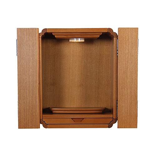 Massivholz mit Tür Buddha Altar, Kabinett Gott des Reichtum Kabinett Altar, Geeignet for Platz Ihrer Spiritual Dekoration Meditation