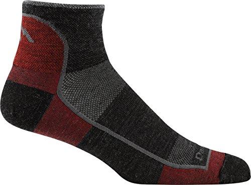 Darn Tough 1/4 Merino Wool Ultra-Light Athletic Socks - Men's Team DTV, Large
