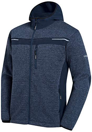 Uvex Perfect Herren-Arbeitsjacke - Dunkelblaue Männer-Softshelljacke - Sportlich & Atmungsaktiv S