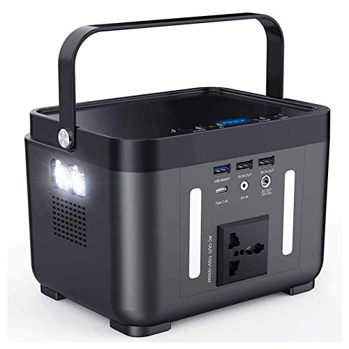 N Z Attrezzatura Domestica Power Bank Portatile Inverter a Onda sinusoidale Pura - Batteria di Backup CPAP da 222 Wh   60000 mAh con Uscita CA Torcia QC3.0 TypeC